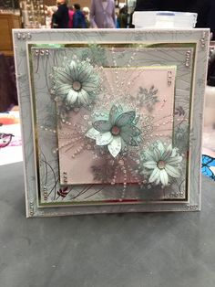 Homemade Greeting Cards, Homemade Cards, Chloes Creative Cards, Stamps By Chloe, Crafters Companion Cards, Shabby Chic Cards, Christmas Cards To Make, Pretty Cards, Happy Birthday Cards