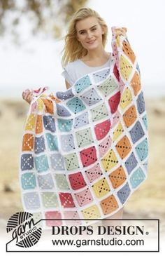 Download Too Much Fun Blanket Crochet Pattern (FREE)