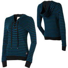 roxy running wild pullover sweatshirt women's 2011