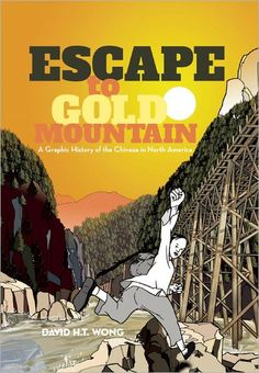 Comic book fans of California, take note: ESCAPE TO GOLD MOUNTAIN signing at Book Soup on Friday, November 9th at 7pm.