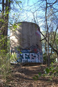 Water Tower - Old Decatur Water Works by xpkranger, via Flickr