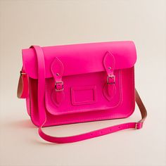 Girls' The Cambridge Satchel Company® fluorescent satchel