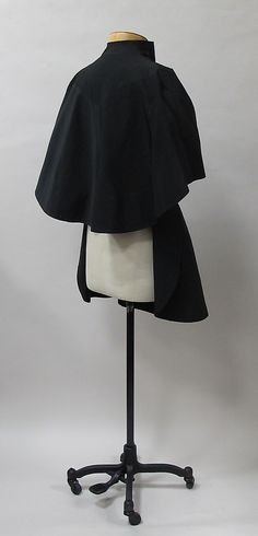 Evening jacket Charles James (American, born Great Britain, 1906–1978)  Date: 1937–38 Culture: American. Back sideway