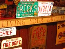 Rick's Tavern, Newfane Vermont - A hidden jewel. Great old fashioned road house with really good food, nice folks and atmosphere.