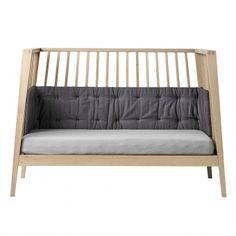 Tour de lit pour lit Linea - Gris