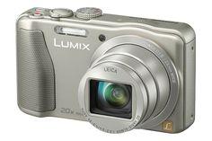Panasonic Lumix DMCTZ35 Silver 20x Optical Zoom Digital Camera