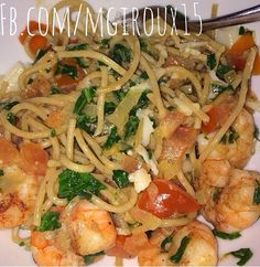 Healthiest version of shrimp scampi! 21 day fix approved and delicious! Recipe at www.facebook.com/mgiroux15