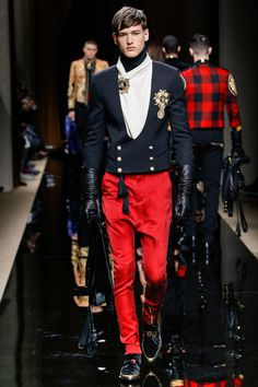 "bowljob: ""menandfashion: ""BALMAIN Fall/Winter 2016 collection PARIS…"