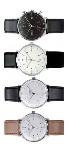 Junghans Max Bill bauhaus inspired brilliance.  Extravagantly minimal...