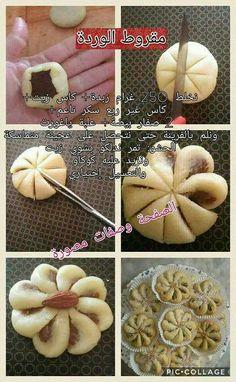 Peanut butter bread shape – Pastry World Arabic Sweets, Arabic Food, Art Du Pain, Bread Recipes, Cookie Recipes, Peanut Butter Bread, Pan Relleno, Bread Shaping, Algerian Recipes