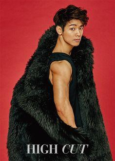 CNBLUE's Kang Min Hyuk for High Cut magazine