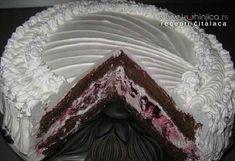 Veoma uksna torta, kremasta mekana...ma jednostavno savšena...   Sastojci Kora:  - 5 jaja - 120 g šećera - 1 vanil-šećer - 50 g oštrog brašna -