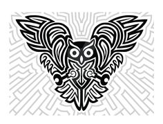 I would like to use this to make a rubber stamp, Futuristic Celtic Owl by mbosn.deviantart.com