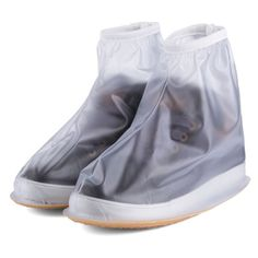 Waterproof-Shoe-Covers-Reusable-Anti-slip-Rain-PVC-Boot-Motorcycle-Bike-Overshoe