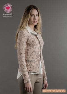 6153-1213 cashmere tricot you will rock! #fashionprint #cashmere #stylingtricot