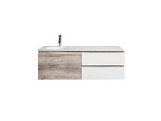 CIBO Habitat 1200 Vanity Unit 1 Door 2 Drawer