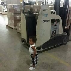 But Mom I want it! #forklift