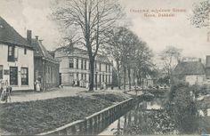 Oranjewal in Dokkum.