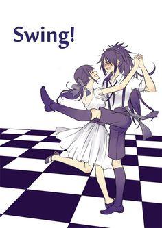 "tsugumi on Twitter: ""不動とスウィング。スウィングの中でもちょっとカントリー調の曲で、収穫祭に楽しく酔っ払って踊るみたいな感じのダンスとか楽しそうです。 不動は何気にスタイルいいので脚とかもめっちゃ上がりそうなイメージです #刀と踊る https://t.co/hGt6MyxLnM"""