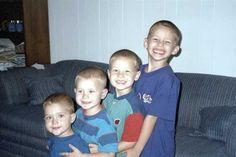 The boys, Luke, Paul, John and Noah. Their sister Mary was also killed.