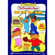 Berenstain Bears: Out for the Team DVD for $24.95