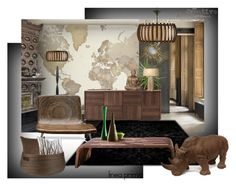 """""""The earth in my living room"""" by linea-prima ❤ liked on Polyvore featuring interior, interiors, interior design, home, home decor, interior decorating, Mr Perswall, Pacini & Cappellini, Heathfield & Co. and SNUG"""