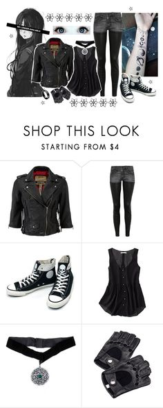 """""""☆ Avengers (Attire) - Glitch / Kiyomi"""" by kiyomisamaxx ❤ liked on Polyvore featuring Superdry, R13, Converse, Madewell and Aspinal of London"""