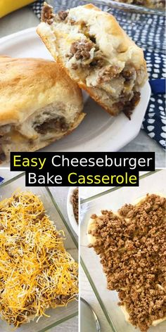 Holiday Recipes is helping busy families enjoy delicious food with easy recipes for dinner, dessert, breakfast, appetizer, lunch and more. Easy Main Dish Recipes, Easy Casserole Recipes, Easy Dinner Recipes, Grand Biscuit Recipes, Pillsbury Biscuit Recipes, Dinner Dishes, Food Dishes, Main Dishes, Good Food