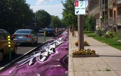 What if we employed artists and graffiti writers to paint Philly's bike lanes?  Currently, Philadelphia is already paying to paint many of our bike lanes green, so why not use that money to make them even more eye catching!