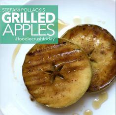 FCF Stefani Pollack's Grilled Apples for @unprocessyourfood
