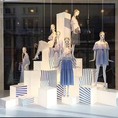 "ZARA,London,UK, ""We ALL feel a little blue.....sometimes"", pinned by Ton van der Veer"