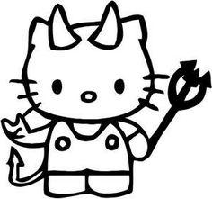 102 Best × Evil Hello Kitty × images | Hello kitty, Kitty ...