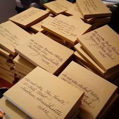My Envelopes On Pinterest Writing Styles Script Writing