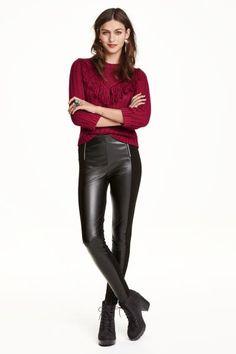 Pantaloni cu fermoare | H&M