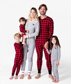 355e32b922b7 Moose It Up Buffalo Plaid Family Matching PJS - Christmas PJS - Hatley PJS