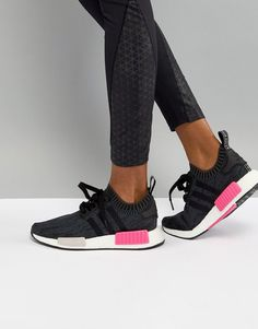 on sale 46dde 83253 ADIDAS ORIGINALS ADIDAS NMD PRIMEKNIT RUNNING SNEAKER - BLACK.   adidasoriginals   Adidas Nmd Primeknit