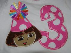 Dora the Explorer Birthday Shirt