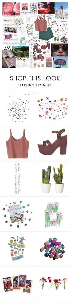 """""""THIS MESS THAT WE BLESS WHEN I BREAK FREE"""" by ahlienated ❤ liked on Polyvore featuring DOMESTIC, Paul Frank, Topshop, ferm LIVING, Free People, KEEP ME, Kipling and Manic Panic NYC"""