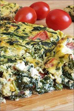 Nachgekocht Sophia Thiel: leichte Spinat-Feta-Quiche