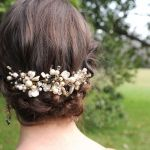 Gorgeous Pearl Hair Comb for Wedding Hair Idea