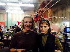 On the set of Carol