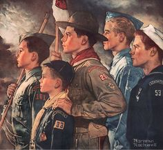 1951... 'Forward America' by Norman Rockwell | by x-ray delta one