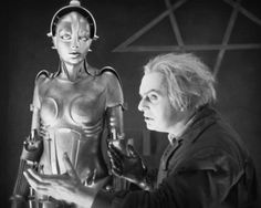 Fritz Lang's Metropolis. So happy it's been restored. Had the pleasure of watching this several years ago with a live orchestra.