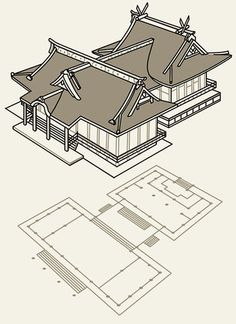 Ancient Chinese Architecture, China Architecture, Temple Architecture, Architecture Model Making, Architecture Concept Drawings, Nikko, Concept Artist Portfolio, Minecraft Japanese House, Conan Exiles
