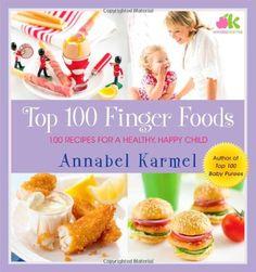 Top 100 Finger Foods: 100 Recipes for a Healthy, Happy Child by Annabel Karmel http://www.amazon.com/dp/0743493710/ref=cm_sw_r_pi_dp_YIznub1DT4PYH