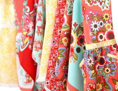 I pinned this from the Tidy Trends - Charming Aprons & Kitchen Linens event at Joss and Main!