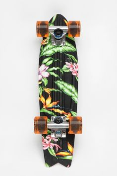 Globe Graphic Bantam Skateboard BLUE MULTI (blue with flowers) & MULTI (universe)