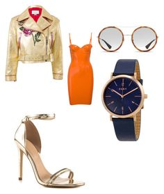 """""""sleek looks"""" by kmdudley on Polyvore featuring Gucci, ALDO and DKNY"""