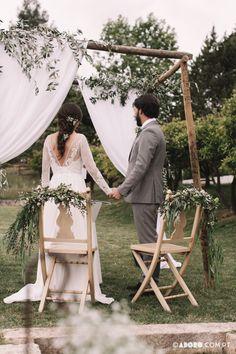 #destinationwedding #portugalweddings #quintadesantanawedding #vineyardwedding #quintadesantanadogradil Portugal, Ladder Decor, Floral, Wedding Ceremony, Mood, Wedding Photography, Weddings, Party, Flowers