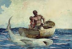 Shark Fishing - Winslow Homer